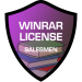 winrar license salesmen